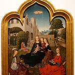 Lisbon MNAA_mystical marriage of st catherine - unk Flemish